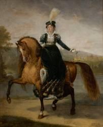 Fréderique-Catherine de Wurtemberg (1782-1835), reine de Westphalie (Antoine-Jean Gros) - Muzeo.com