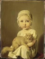 Gabrielle Arnault enfant (Boilly Louis Léopold) - Muzeo.com