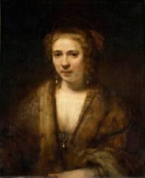 Hendrickje Stoffels (1625-1663) (Rembrandt) - Muzeo.com