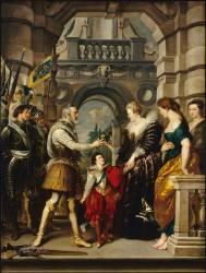 Henri IV part pour la guerre d'Allemagne (Pierre-Paul Rubens) - Muzeo.com