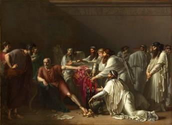 Hippocrate refusant les présents d'Artaxercès (Girodet Anne-Louis) - Muzeo.com