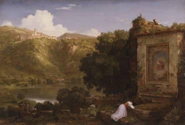 Il Penseroso (Thomas Cole) - Muzeo.com