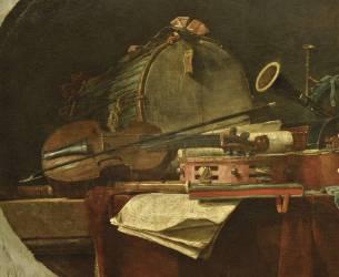 Instruments de la Musique Civile (Jean Siméon Chardin) - Muzeo.com