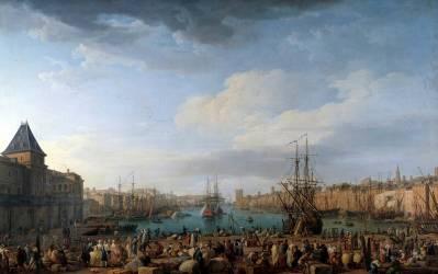 Intérieur du port de Marseille (Joseph Vernet) - Muzeo.com