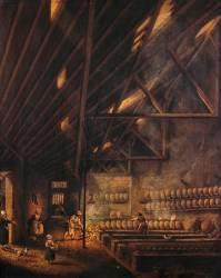 Intérieur d'un atelier (Pierre-Antoine Demachy) - Muzeo.com