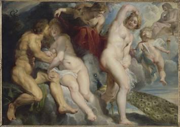 Ixion, roi des Lapithes, trompé par Junon (Pierre Paul Rubens) - Muzeo.com
