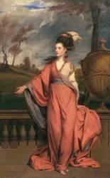 Jane Fleming, Future Comtesse d'Harrington (Joshua Reynolds) - Muzeo.com