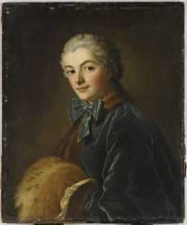 Jeune femme au manchon (Boucher François) - Muzeo.com