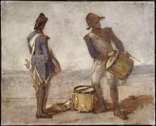 Jeunes tambours (Thomas Couture) - Muzeo.com