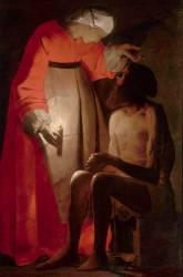 Job raillé par sa femme (Georges de La Tour) - Muzeo.com