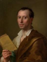 Johann Joachim Winckelmann (1717-1768) (Anton Raphael Mengs) - Muzeo.com