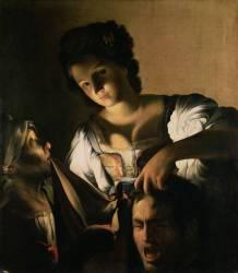 Judith avec la tête d'Holopherne (Carlo Saraceni) - Muzeo.com