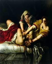 Judith décapitant Holopherne (Artemisia Gentileschi) - Muzeo.com