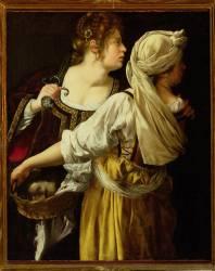 Judith et sa servante (Artemisia Gentileschi) - Muzeo.com