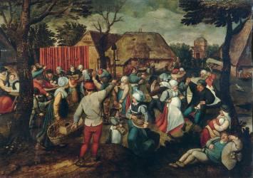 Kermesse (Pieter Brueghel Le Jeune) - Muzeo.com