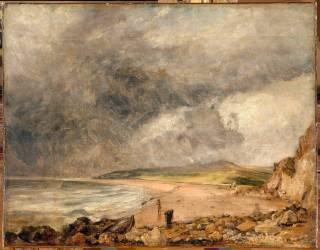 La Baie de Weymouth à l'approche de l'orage (John Constable) - Muzeo.com