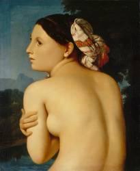 La Baigneuse (Jean-Auguste-Dominique Ingres) - Muzeo.com