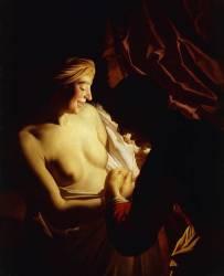 La Chasse aux puces (Gerrit Van Honthorst) - Muzeo.com