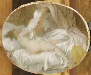 La Chemise enlevée (Fragonard Jean-Honoré) - Muzeo.com
