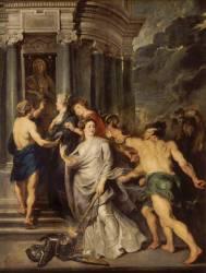 La Conclusion de la paix, à Angers, le 10 août 1620, à Florence le 5 octobre 1600 (Pierre Paul Rubens) - Muzeo.com