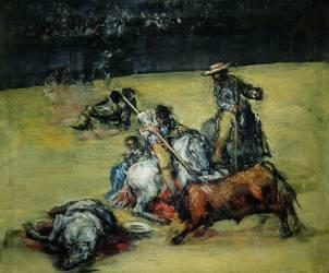 La Corrida (Francisco de Goya) - Muzeo.com