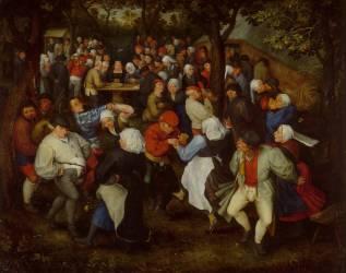 La Danse de noces (Jan Brueghel l'Ancien) - Muzeo.com