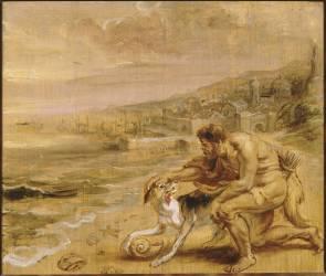 La découverte de la pourpre (Rubens Pierre Paul) - Muzeo.com