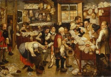 La Dîme (Jan Brueghel le Jeune) - Muzeo.com