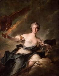 La duchesse de Chaulnes (1718-1787), représentée en Hébé (Jean-Marc Nattier) - Muzeo.com