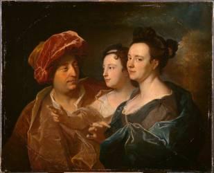 La Famille Laffite (Hyacinthe Rigaud) - Muzeo.com