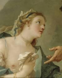 La Fausse princesse de Micomicon vient prier Don Quichotte de la remettre sur son trône (Charles Joseph Natoire) - Muzeo.com
