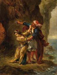 La Fiancée d'Abydos (Byron. Chant II. Strophe XXIII) (Delacroix Eugène) - Muzeo.com