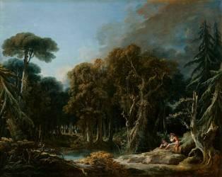 La Forêt (François Boucher) - Muzeo.com