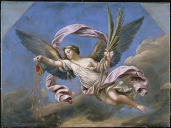 La Fortune ou l'Abondance et la Libéralité (Pierre Mignard) - Muzeo.com
