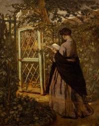 La lecture (Thomas Couture) - Muzeo.com