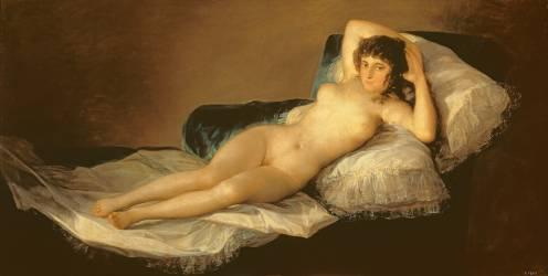 La Maja nue (Francisco de Goya) - Muzeo.com