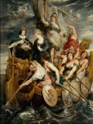 La Majorité de Louis XIII, le 20 octobre 1614 (Pierre Paul Rubens) - Muzeo.com
