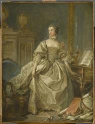 La marquise de Pompadour (1721-1764) (François Boucher) - Muzeo.com