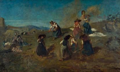 La moisson en Provence (Fromentin Eugène) - Muzeo.com
