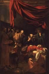 La Mort de la Vierge (Le Caravage) - Muzeo.com