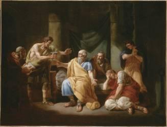 La mort de Socrate (Jean-Antoine Watteau) - Muzeo.com