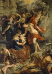 La naissance de Marie de Médicis à Florence le 26 avril 1573 (Pierre Paul Rubens) - Muzeo.com