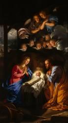 La Nativité (Philippe de Champaigne) - Muzeo.com