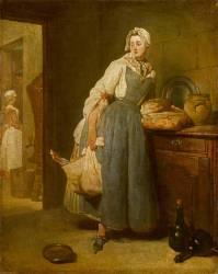 La Pourvoyeuse (Chardin Jean Baptiste Siméon) - Muzeo.com