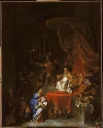 La Présentation au temple (Hyacinthe Rigaud) - Muzeo.com