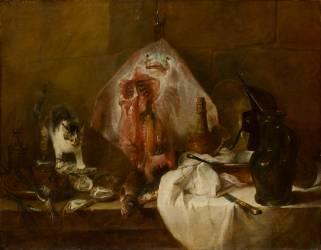 La Raie (Jean Siméon Chardin) - Muzeo.com