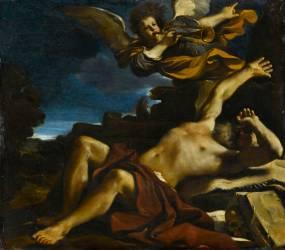 La Vision de saint Jérôme (Le Guerchin) - Muzeo.com