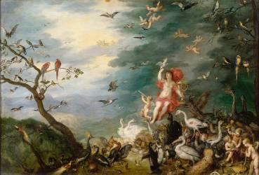 L'air ou L'Optique (Jan Brueghel l'Ancien) - Muzeo.com