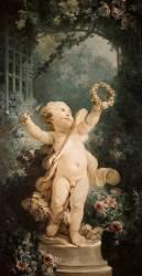 L'Amour triomphant (Fragonard Jean-Honoré) - Muzeo.com