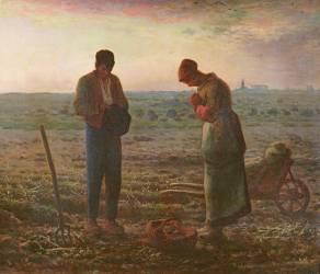 L'Angélus (Millet Jean-François) - Muzeo.com